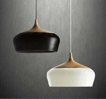 Salle A Manger Moderne En Bois De Lumiere Pendentif Et Lampe En