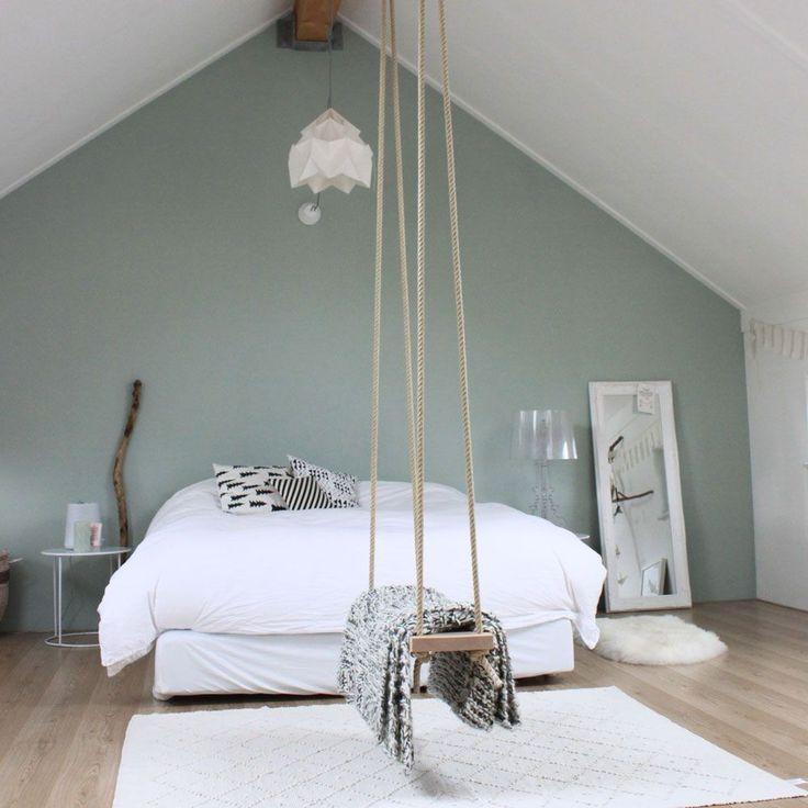 Deco Chambre Vert Deau Et Gris