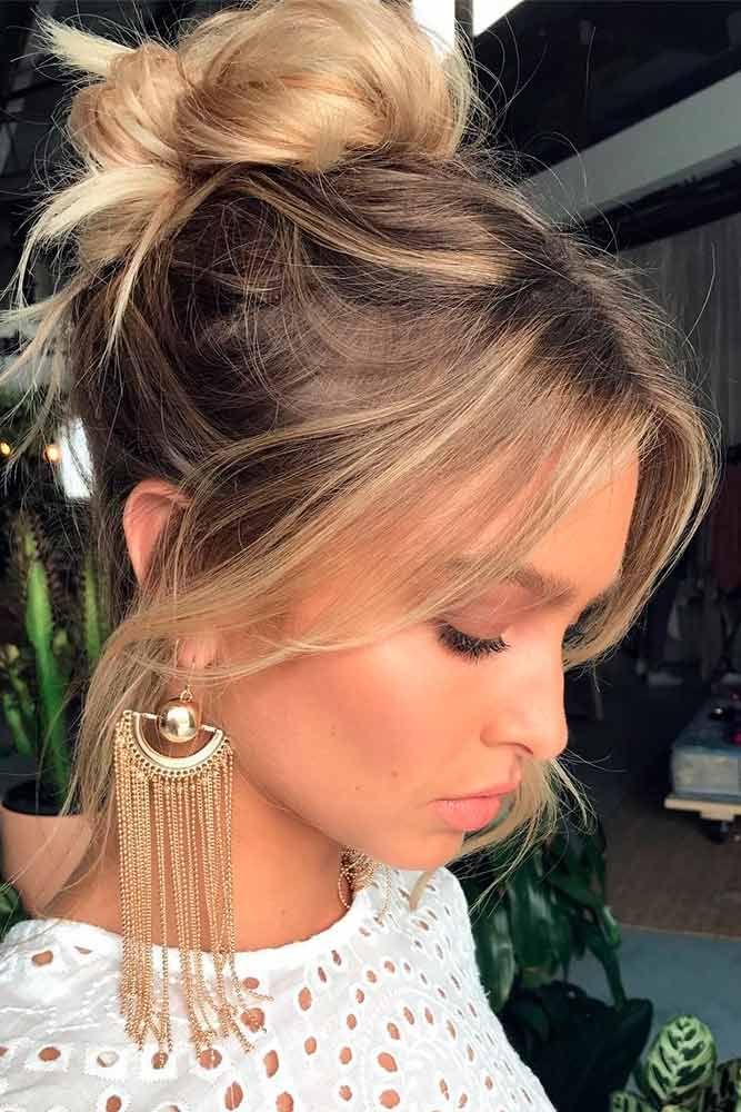 Nouvelle tendance coiffures pour femme 2017 2018 24 coiffures pour les cheveux de taille - Tendance coiffure 2017 2018 ...