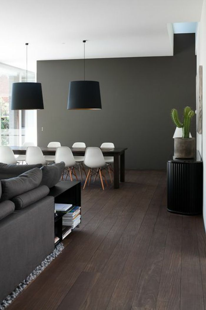d co salon voici la salle manger contemporaine en 62 photos leading. Black Bedroom Furniture Sets. Home Design Ideas