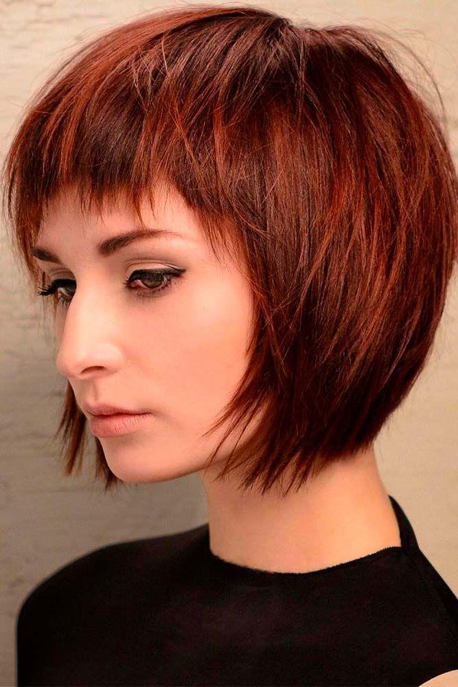 nouvelle tendance coiffures pour femme 2017 2018 14 couleurs de cheveux en couches courtes. Black Bedroom Furniture Sets. Home Design Ideas