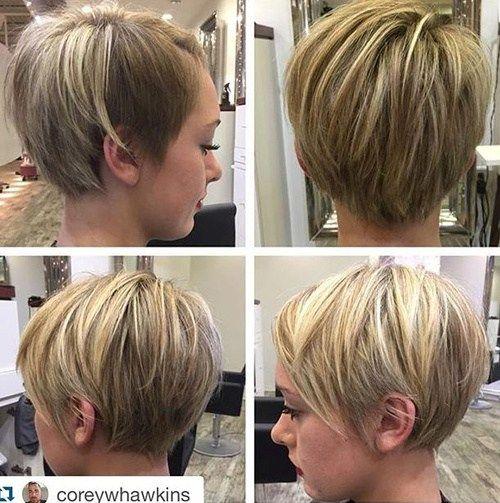 id es coupe cheveux pour femme 2017 2018 50 coiffures courtes et coupes de cheveux pour les. Black Bedroom Furniture Sets. Home Design Ideas
