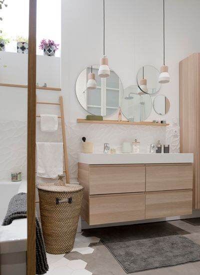 Id e d coration salle de bain home sweet home lyon for Idee deco salle de bain 5m2