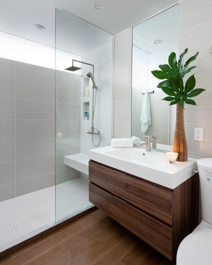 description salle de bains avec une douche italienne - Salle De Bains Douche Italienne