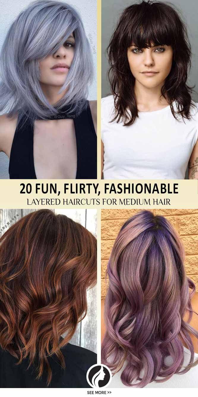 Nouvelle tendance coiffures pour femme 2017 2018 les coupes de cheveux en couches pour les - Coiffure mode 2017 ...