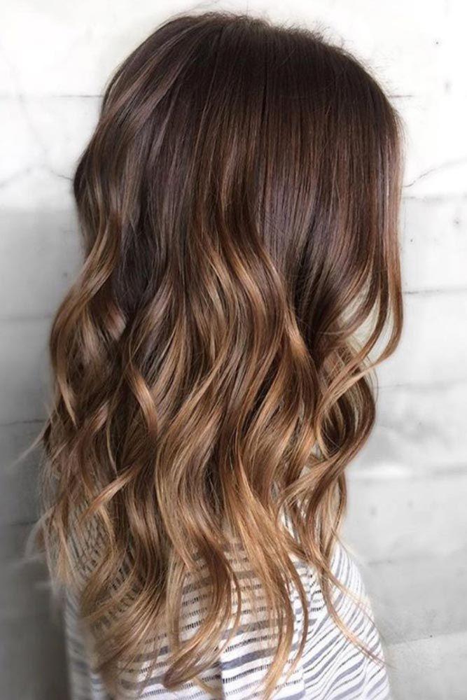 nouvelle tendance coiffures pour femme 2017 2018 les cheveux ombre bruns sont tous rage. Black Bedroom Furniture Sets. Home Design Ideas