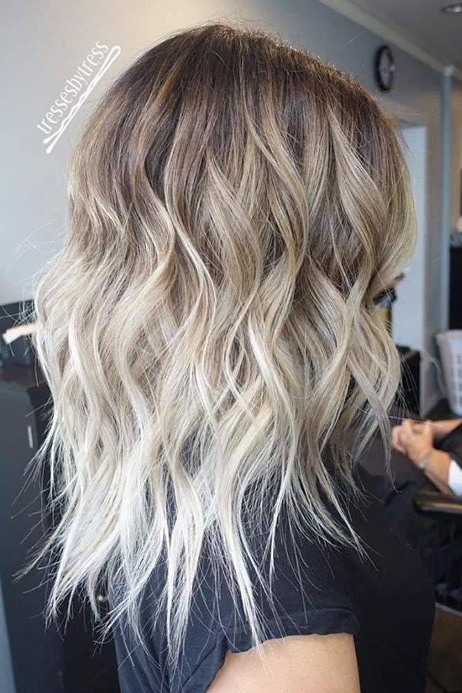 nouvelle tendance coiffures pour femme 2017 2018 voici 60 styles de cheveux blonde ombre. Black Bedroom Furniture Sets. Home Design Ideas
