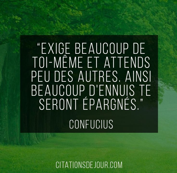 Citation Citation De Confucius Sur Lhomme