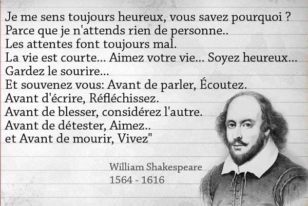 Citaten Shakespeare Love : Citation shakespeare la du jour