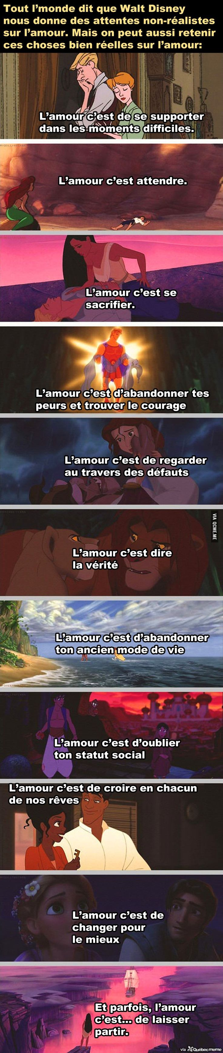 citation amour walt disney