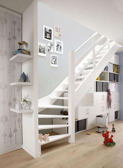 Aménagement escalier : 4 stratégies pour rafraîchir l\'escalier de la ...