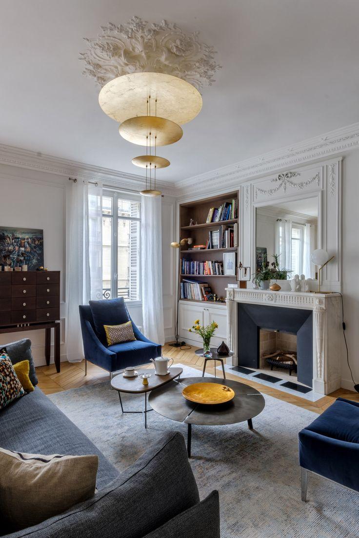 D co salon appartement du vi me arrondissement par - Decoration salon appartement ...