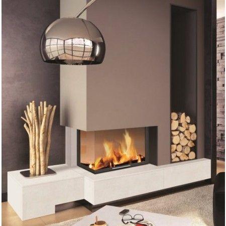 beautiful deco salon moderne avec cheminee photos. Black Bedroom Furniture Sets. Home Design Ideas