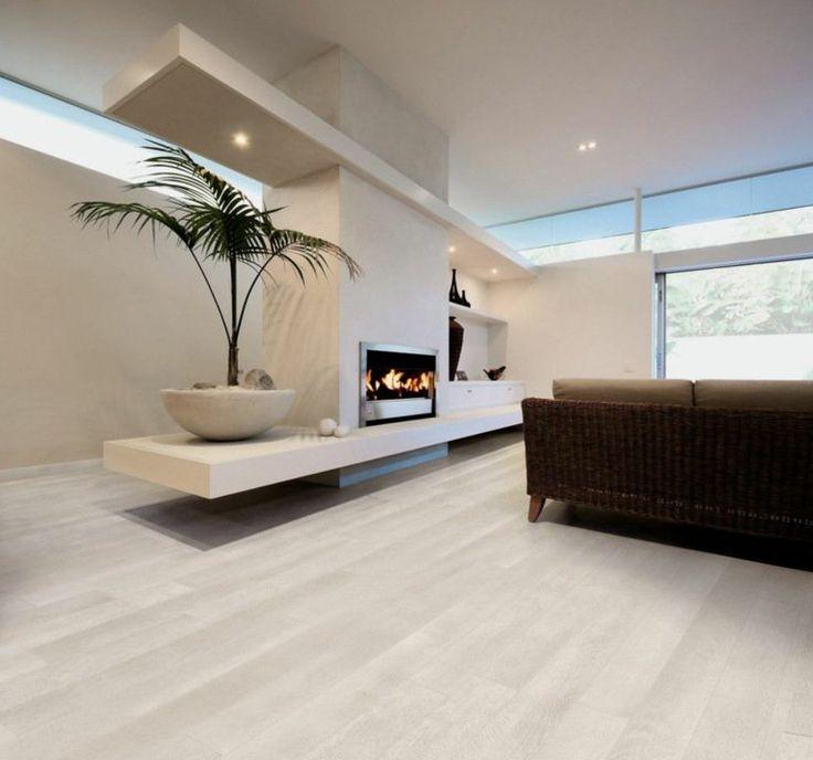 d co salon carrelage imitation parquet de couleur claire pour salon. Black Bedroom Furniture Sets. Home Design Ideas