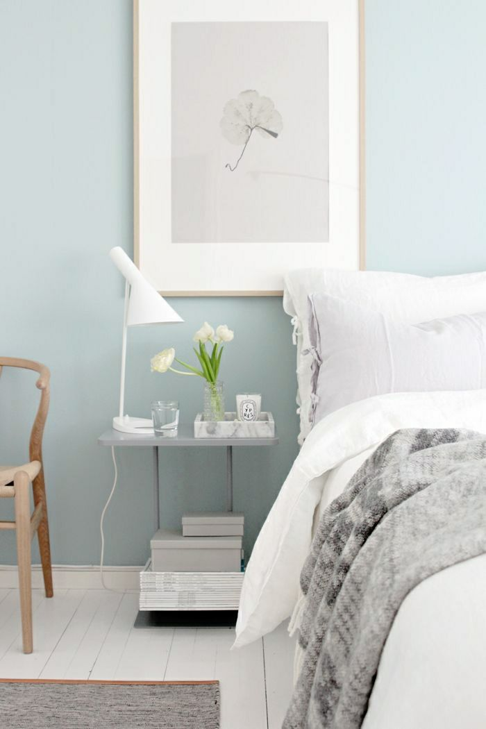 Stunning decoration chambre couleur pastel pictures home for Decoration chambre a coucher