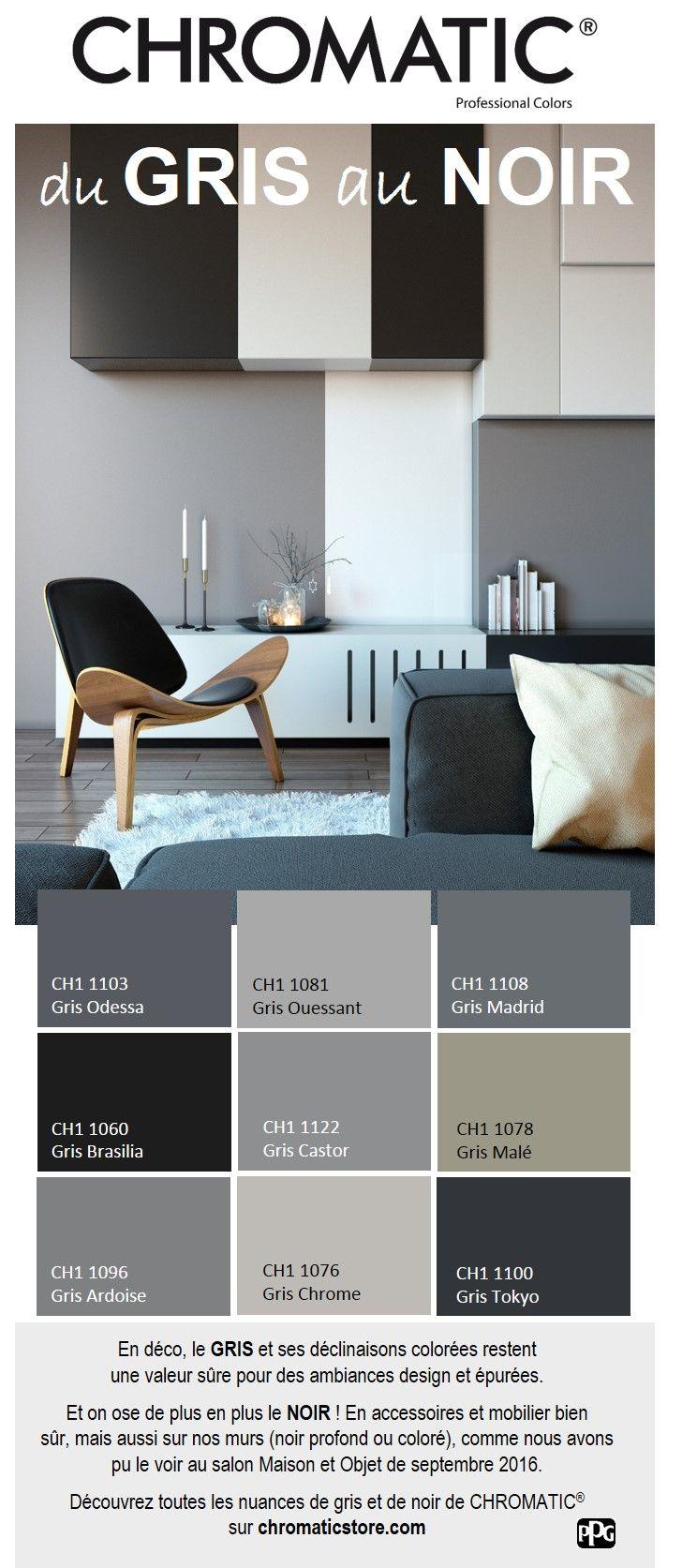 D co salon d couvrez toutes les nuances de gris et de for Deco salon gris et noir