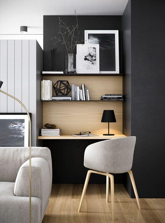 d co salon des id es pour am nager un bureau leading inspiration. Black Bedroom Furniture Sets. Home Design Ideas