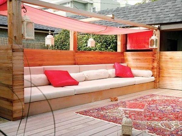 Comment Fabriquer Un Salon De Jardin Avec Des Palettes. Gallery Of ...