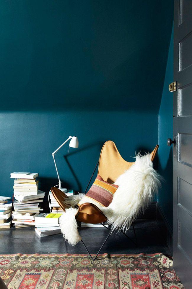 Deco Salon L Espace Bleu Nuit Listspirit Com