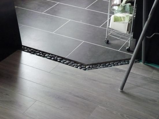 Carrelage Salon Cuisine Cool Salon Parquet Cuisine Carrelage Mixte