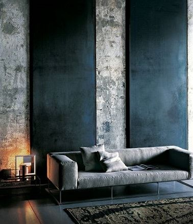 d co salon peinture 10 d co chic en gris anthracite deco cool. Black Bedroom Furniture Sets. Home Design Ideas