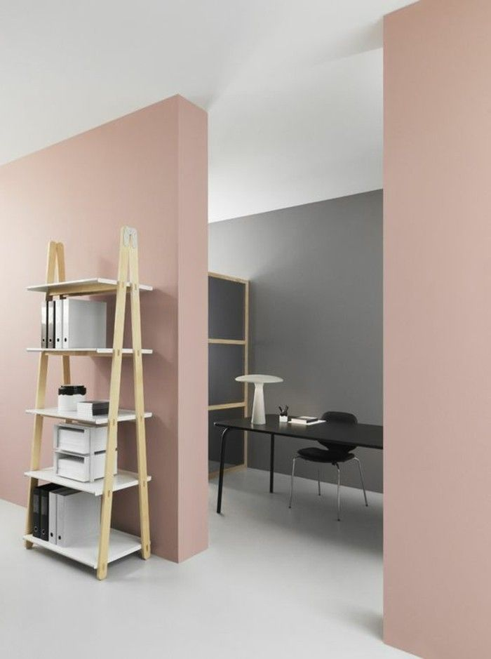 D co salon peinture mur salon de couleur rose p le sol beige dans le salon listspirit - Salon de the veules les roses ...