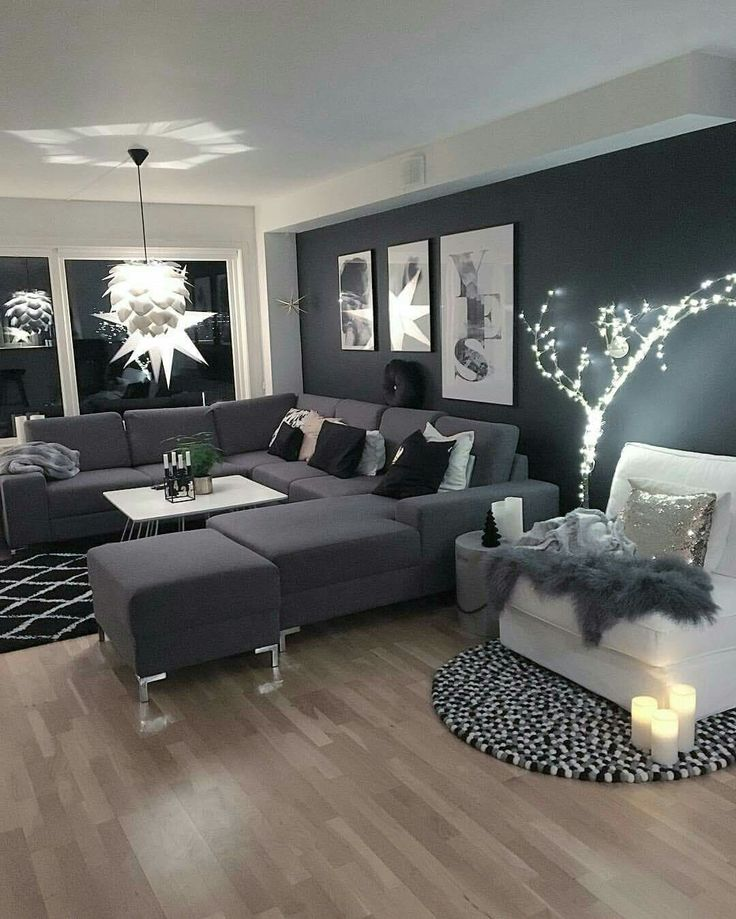 D co salon pinterest thephotown magazine lifestyle for Red black and silver living room ideas
