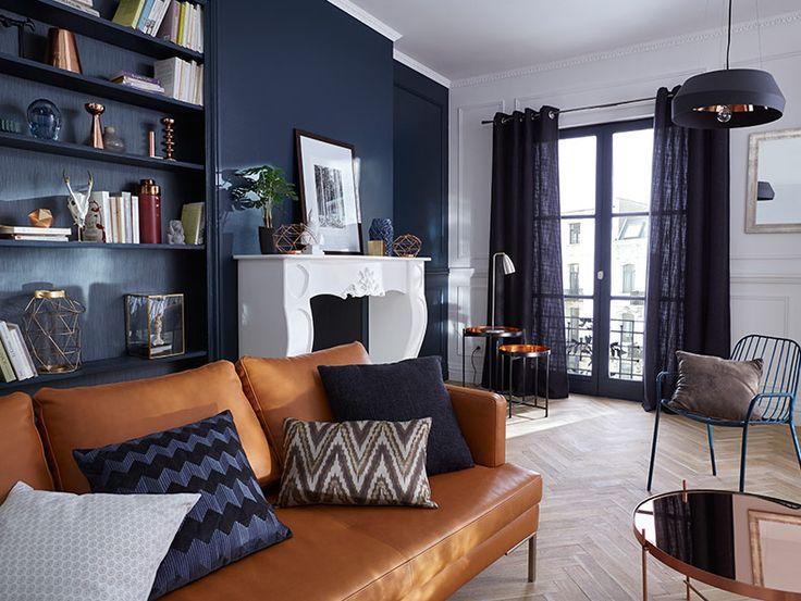 Deco Salon Chaleureux Et Confortable Ce Salon Bouscule