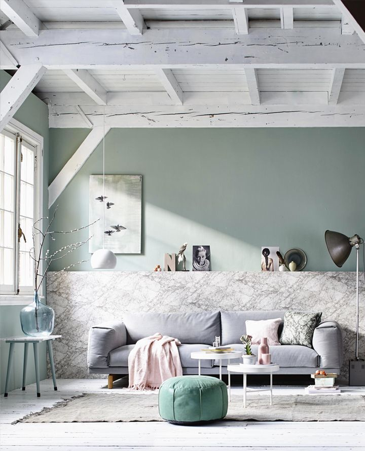 d co salon tendance couleur le vert de gris mademoiselle claudine le blog. Black Bedroom Furniture Sets. Home Design Ideas