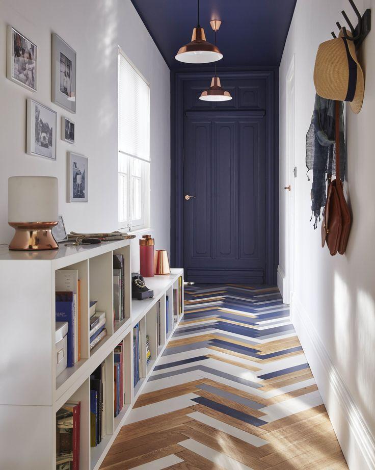 Deco Salon Un Joli Couloir Entree Avec Son Parquet