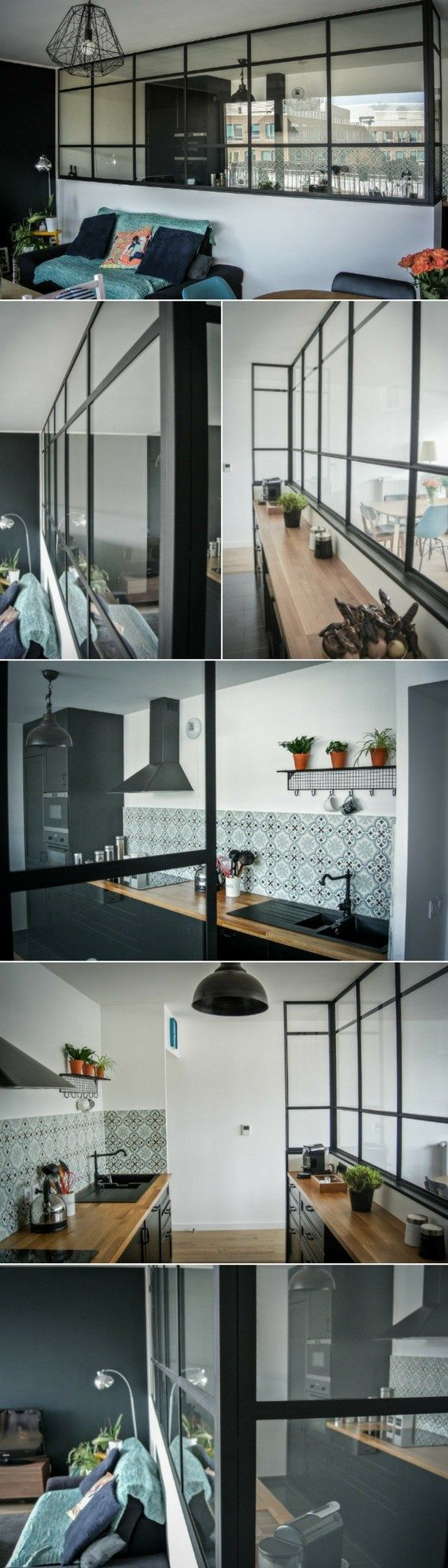 idee deco verriere interieure good une verrire duintrieur pour agrandir son espace with idee. Black Bedroom Furniture Sets. Home Design Ideas