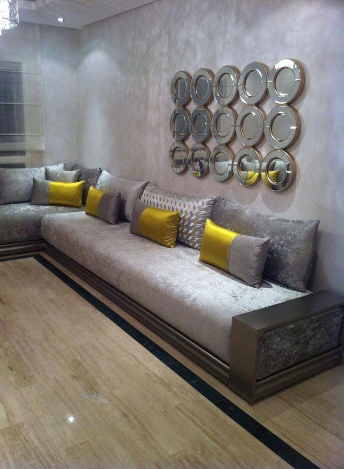 Salon Marocain 2018 Vert – Inspiration de décoration ...