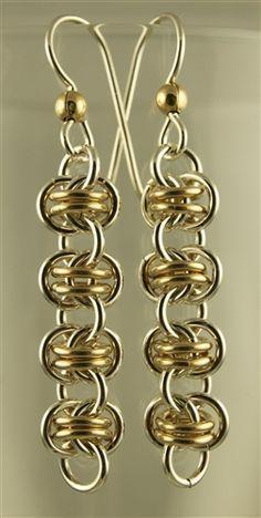 Diy Bijoux Free Chainmail Patterns Chain Maille Chain