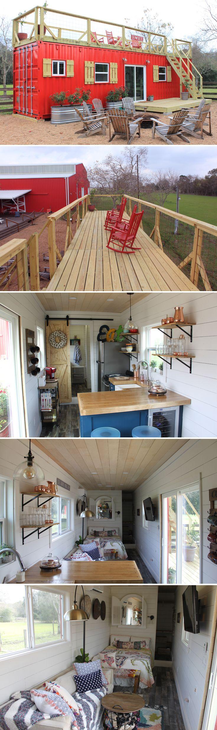 Salle De Bain Tiny House ~ id e d coration salle de bain a 40 shipping container tiny house