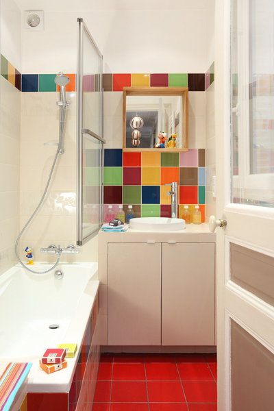 Stunning salle de bain enfant coloree ideas awesome for Presentation salle de bain