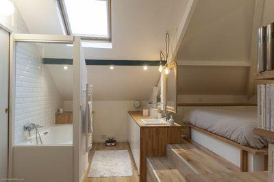 Idée décoration Salle de bain - Combles aménagés : une ...