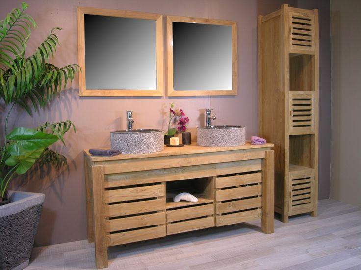 Id e d coration salle de bain d coration de maison for Idee salle de bain bois