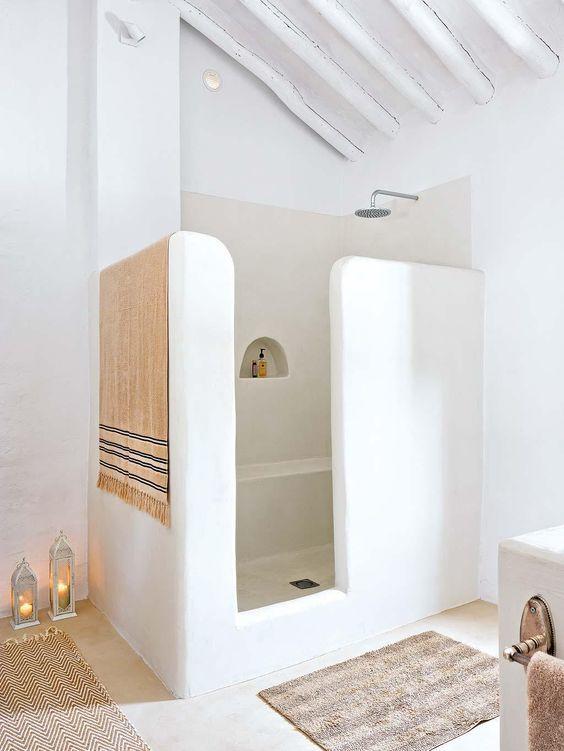 id e d coration salle de bain inspiration pour une salle de bain comme en gr ce inspiration. Black Bedroom Furniture Sets. Home Design Ideas