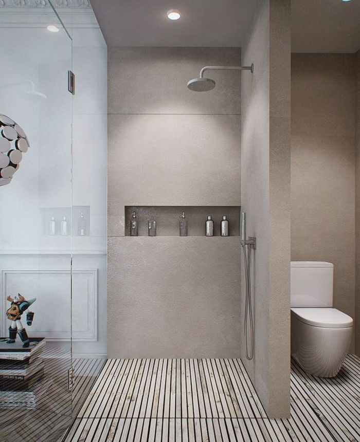 Beautiful Salle De Bain Taupe Et Fuchsia Photos - Amazing House ...