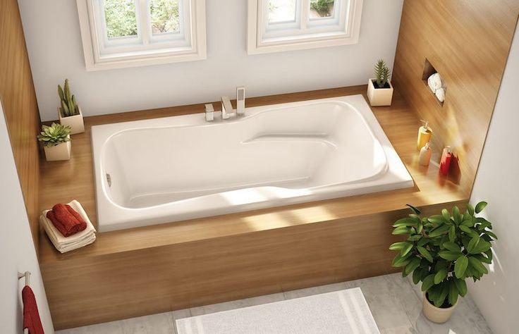 Idée décoration Salle de bain - petite salle de bains avec baignoire ...