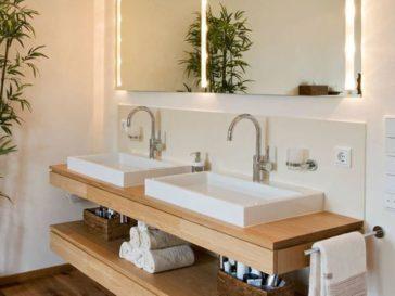Idée décoration Salle de bain - The grey cabinet paint color ...