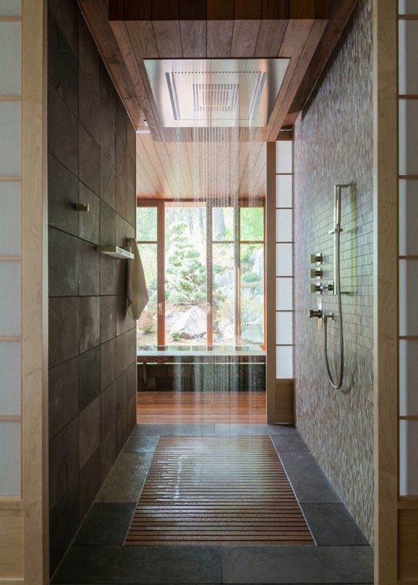 Idée décoration Salle de bain - Salle de bain au style japonais ...