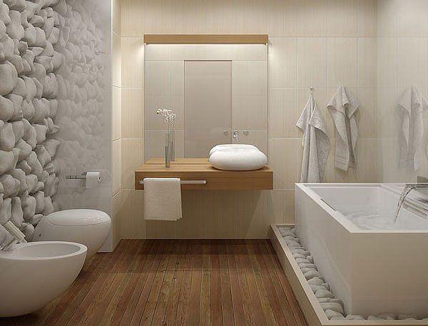 Idée décoration Salle de bain - Salle de bain déco nature ...