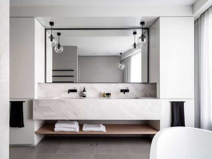 Description. Salle De Bain Design En Marbre ...