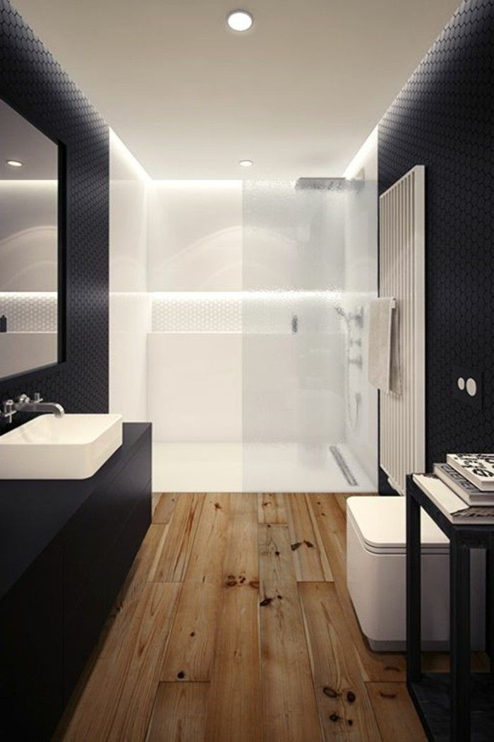 id e d coration salle de bain salle de bain en blanc. Black Bedroom Furniture Sets. Home Design Ideas