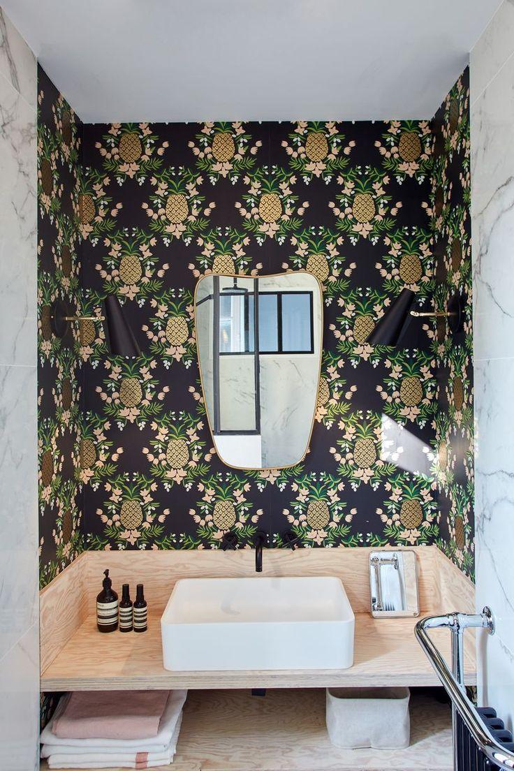 idée décoration salle de bain - the first apartment, in the boulogne