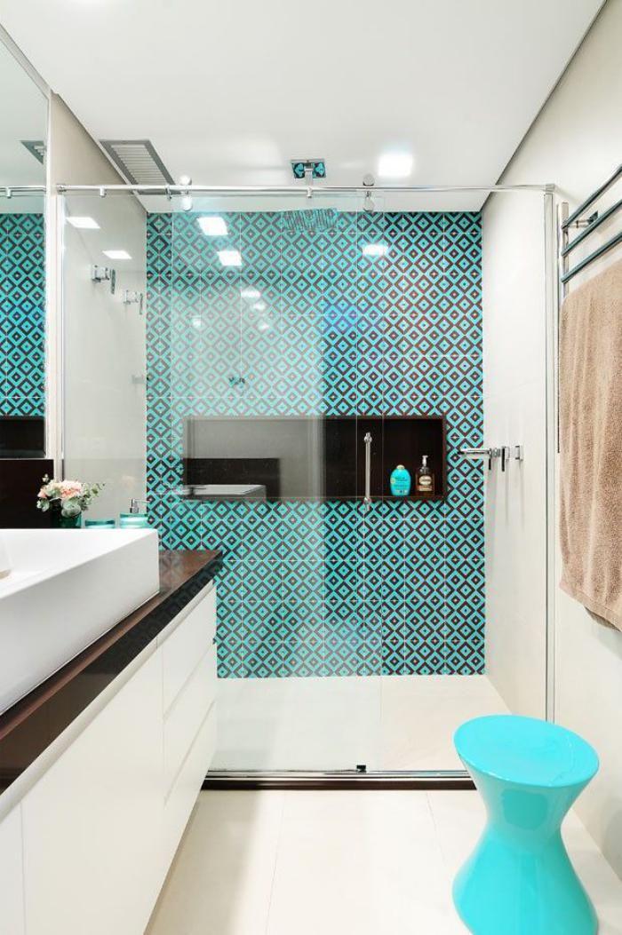 Idée décoration Salle de bain - salle de bain scandinave ...