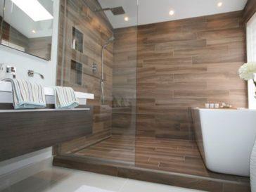id e d coration salle de bain salle de bains et carreaux ciment bleus salle de bain de style. Black Bedroom Furniture Sets. Home Design Ideas