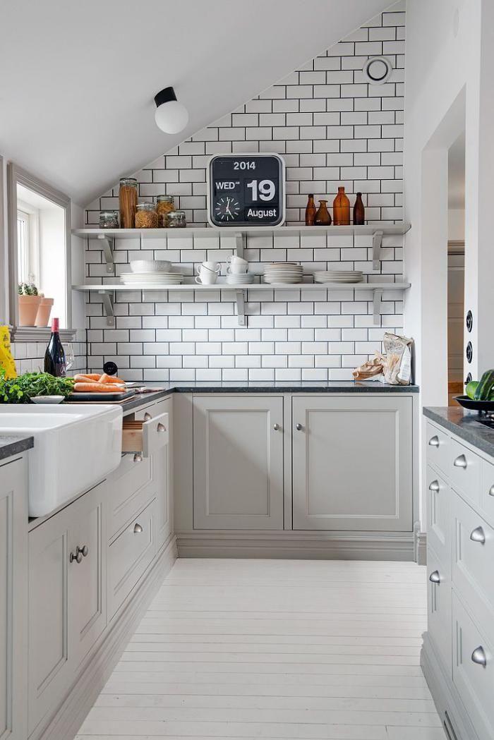 id e relooking cuisine 40 photos de cuisine scandinave les cuisines de r ve choisies pour. Black Bedroom Furniture Sets. Home Design Ideas