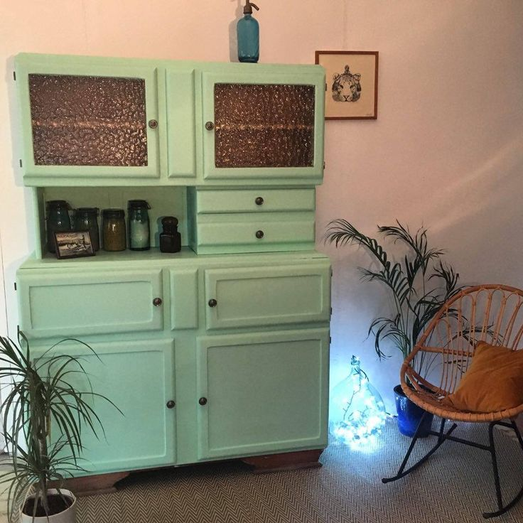 id e relooking cuisine beau buffet mado vintage des ann es 50 couleur mint 6 portes et deux. Black Bedroom Furniture Sets. Home Design Ideas